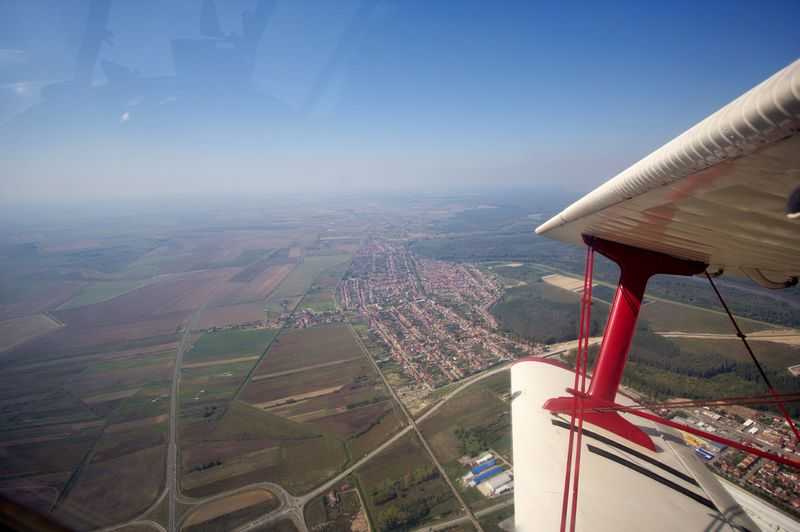 Višnjevac iz zraka  Foto: cacan  Ključne riječi: padobranci memorijal zrakoplovaca visnjevac