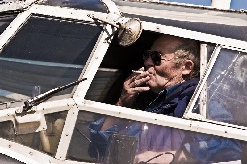 Stari zračni vuk  Photo: steam  Ključne riječi: padobranci memorijal zrakoplovaca