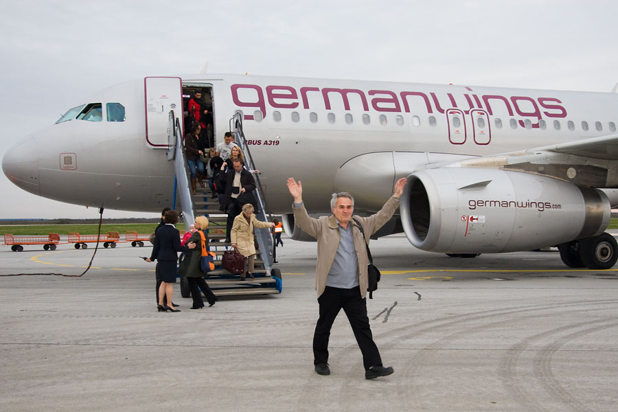 Germanwings  Foto: steam  Ključne riječi: zlo aerodrom avion germanwings