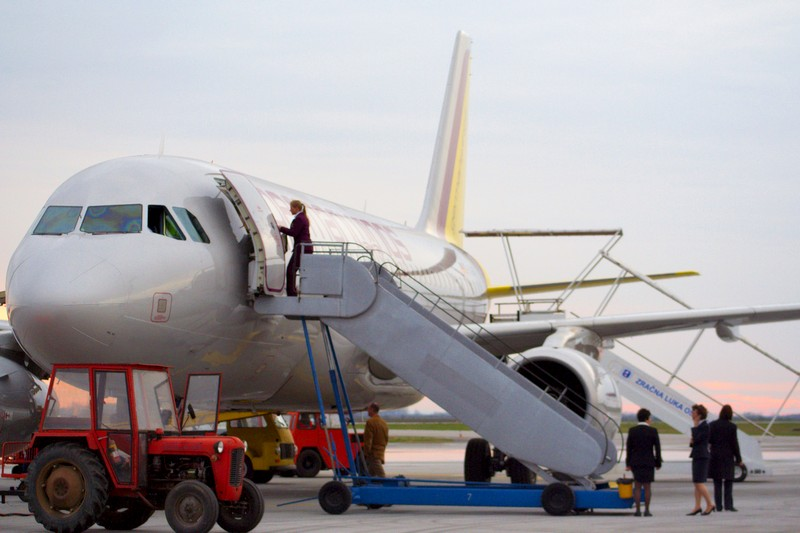 Germanwings  Foto: cacan  Ključne riječi: zlo aerodrom avion germanwings