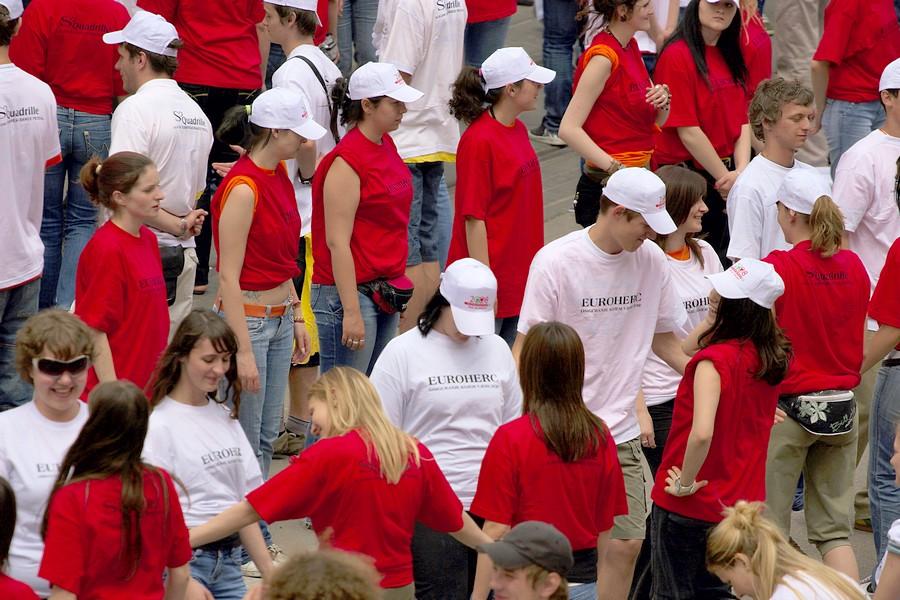 Maturanti, norijada, quadrilla 2008.  Foto: cacan  Ključne riječi: maturanti norijada quadrilla 2008