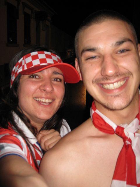 Euro 2008 Osijek, slavlje!  Foto: chaya  Ključne riječi: euro2008 euro slavlje navijanje