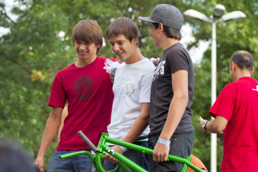 BMX street pobjednici [mlađi]  Foto: cacan  Ključne riječi: pannonian challenge pannonian2008
