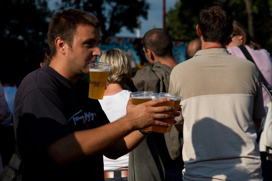 Pivo za ekipu  Foto: Matko  Ključne riječi: pannonian challenge pannonian2008