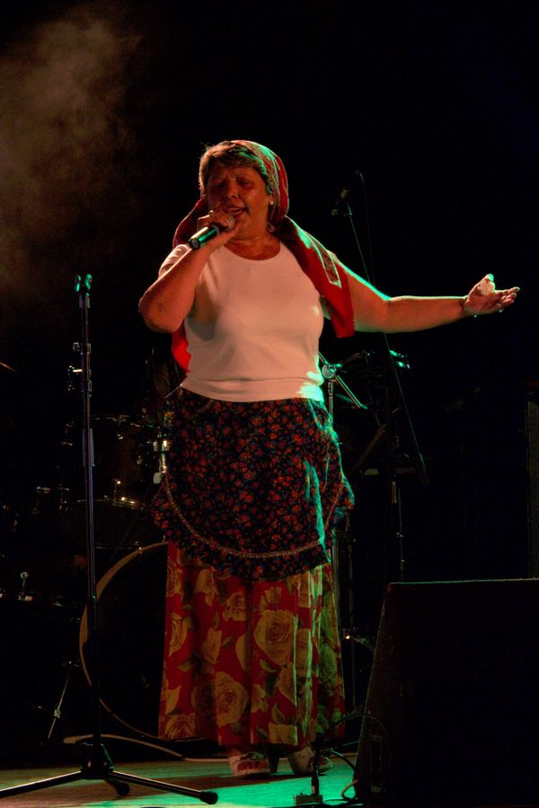 Nadica Balog & Orkestar Romska duša  Foto: toni