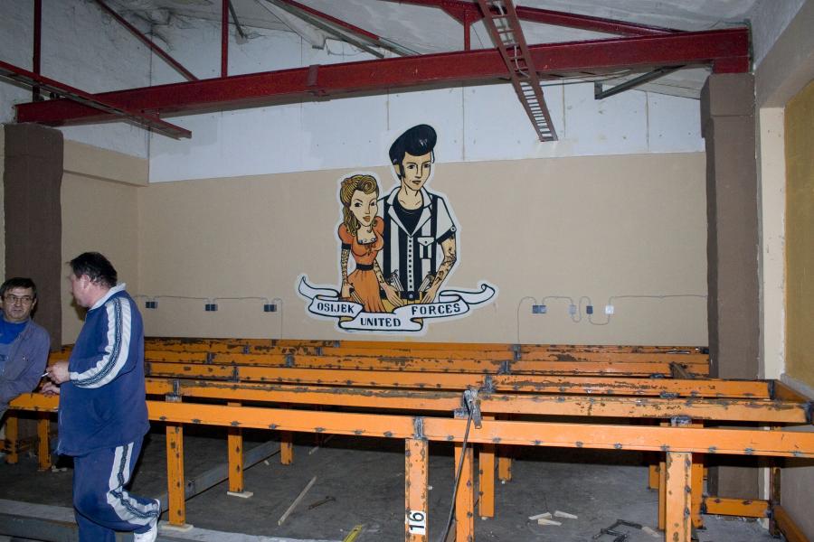 Klub Osijek United  Foto: Daniel Antunovic  Ključne riječi: osijek-united