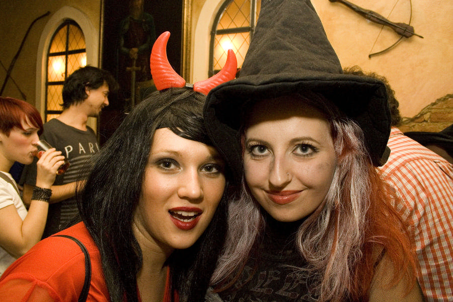 Halloween 2008  Foto: Daniel Antunovic  Ključne riječi: halloween halloween2008