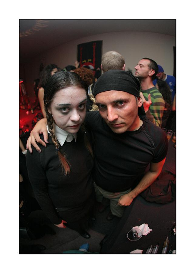 Halloween 2008  Foto: Tomislav Šilovinac [sikki]  Ključne riječi: halloween halloween2008