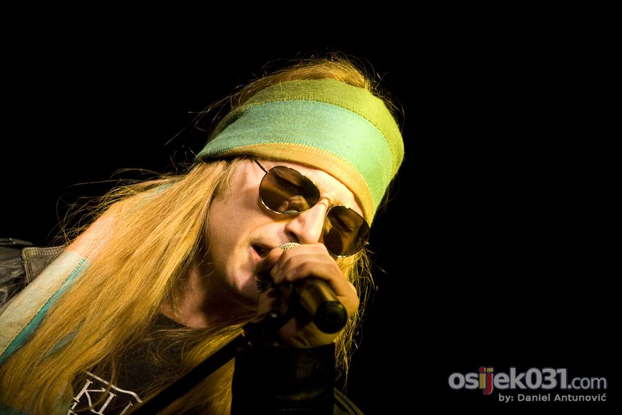 Guns'n'Roses Real Tribute  Foto: Daniel Antunović  Ključne riječi: guns roses real-tribute slavija