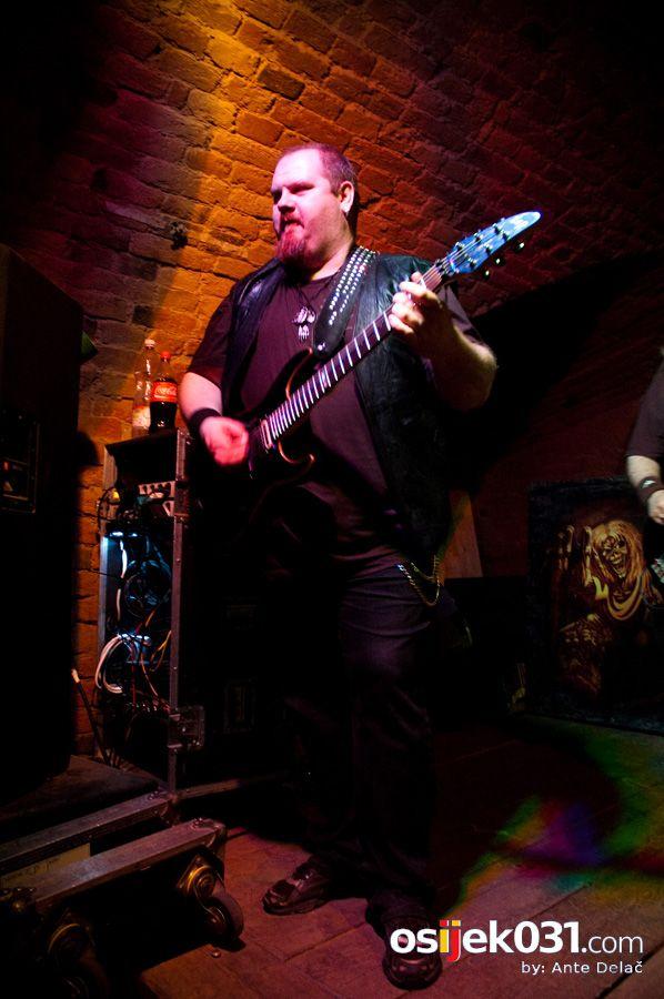 Mini Teatar: Iron Maiden Tribute Band  Foto: Ante Delač  Ključne riječi: iron-maiden tribute band