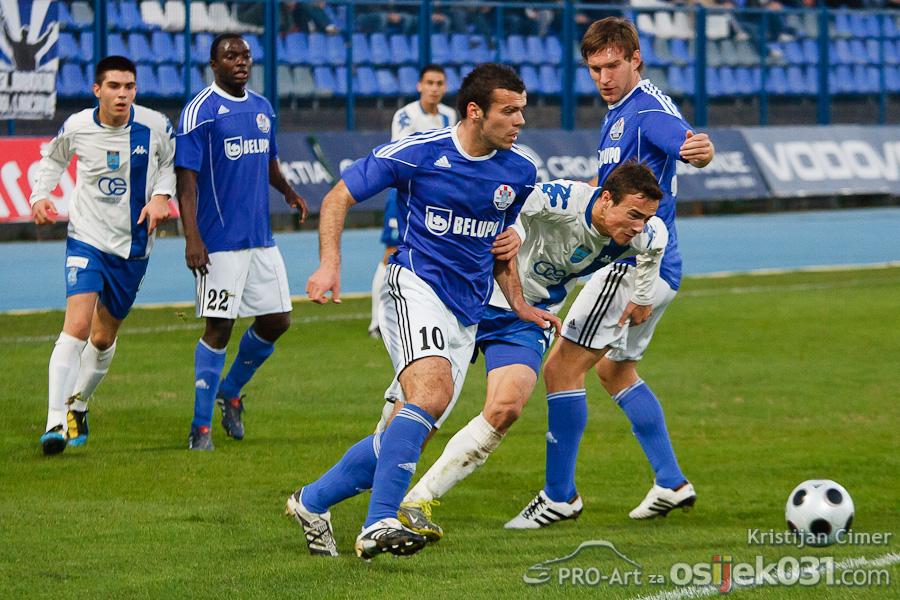NK Osijek - NK Slaven Belupo 1 : 1  Foto: Kristijan Cimer [Pro-Art]  Ključne riječi: nkosijek