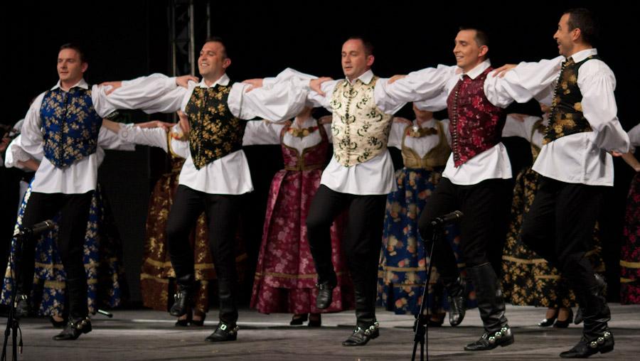 Lado - ansambl narodnih plesova i pjesama Hrvatske  Foto: Tomislav Kelić