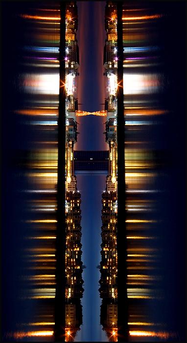 U prolazu  Foto: Samir Kurtagić  Ključne riječi: samir prolazu noc