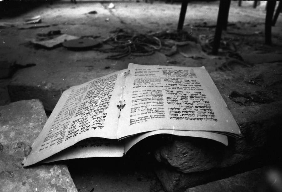 Tora  Entiteti praznine - prizor sa židovskog groblja u Osijeku  Foto: Andrej Mirčev   Ključne riječi: groblje tora zidov