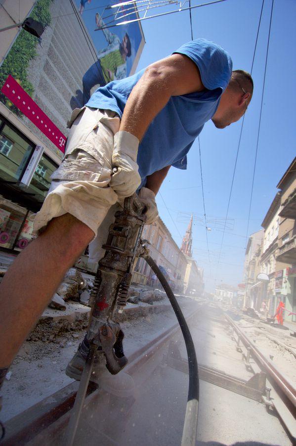 Obnova Kapucinske  Foto: cacan  Ključne riječi: obnova radovi kapucinska