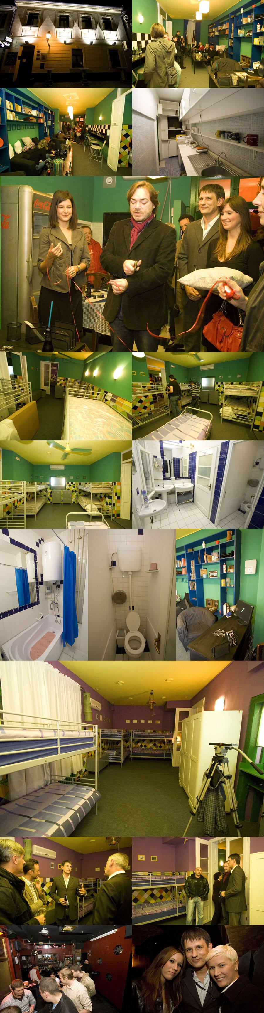 Hostel Tufna - otvorenje  Info: [url=http://www.osijek031.com/osijek.php?najava_id=15675]Hostel Tufna[/url]  Foto: Daniel Antunović   Ključne riječi: tufna hostel