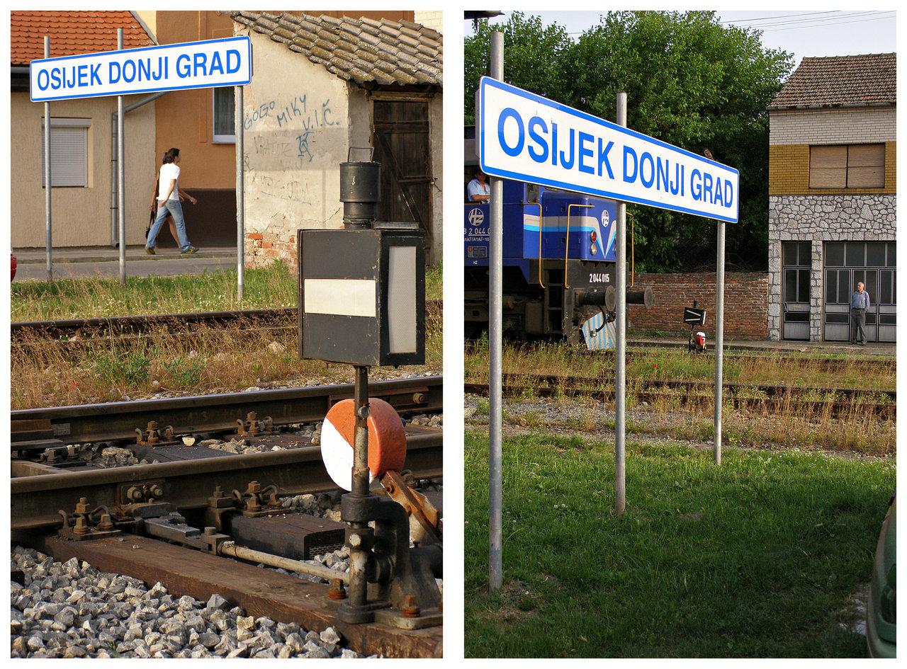 Dvije strane iste pruge  Foto: [url=http://www.mojosijek.deviantart.com/]Domagoj Sajter[/url]  Ključne riječi: sajter pruga zeljeznica dgo