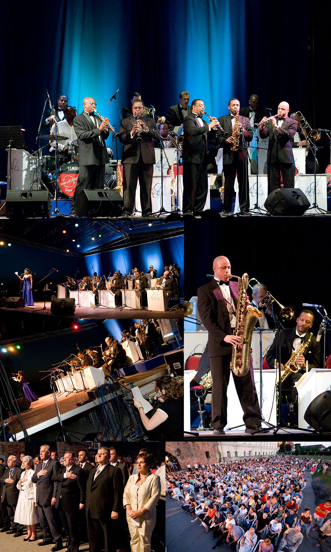 Osječko ljeto kulture - Duke Ellington Orchestra [kolaž]  7. Osječko ljeto kulture, otvoreno je večeras koncertom Duke Ellington orkestra. Sve do 21. srpnja osječke večeri bit će obogaćene dramskim programom, gostovanjima inozemnih jazz i blues glazbenika, književnim večerima, likovnim izložbama, Performance Art Festivalom i Filmskim Art Ciklusom.  [b]Pogledajte:[/b] [url=http://www.osijek031.com/osijek.php?topic_id=7989]OLJK - Osječko ljeto kulture 2007. - program[/url] + [url=http://www.osijek031.com/files/oljk_program_osijek031com_v1_0.pdf][OLJK 2007. PDF][/url]  Foto: steam  Ključne riječi: OLJK2007 oljk 2007 duke ellington orchestra