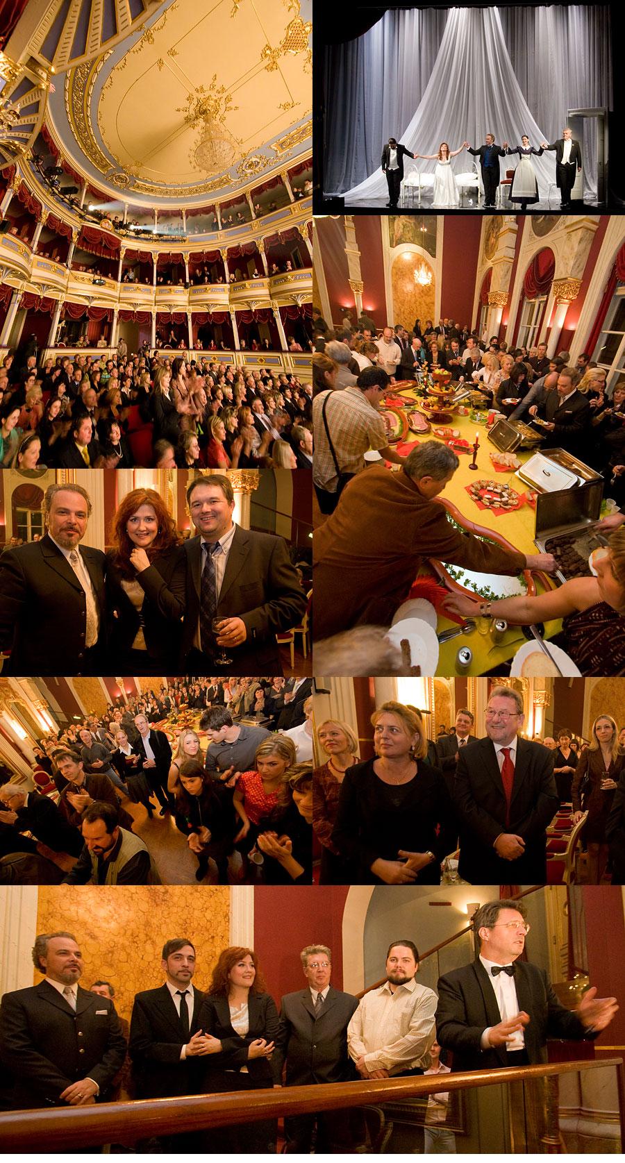 HNK: Traviata - premijera [kolaž]  Foto: steam  Ključne riječi: hnk traviata kolaz