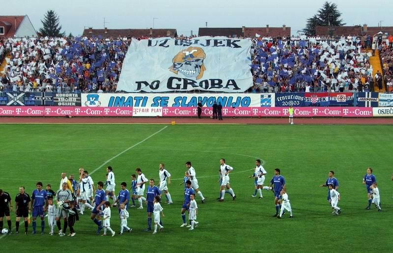 2005.07.30. Osijek - Nk Osijek - Dinamo 1:0  Ključne riječi: kohorta osijek dinamo