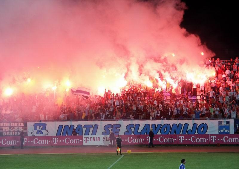 2005.07.30. Osijek - Nk Osijek - Dinamo 1:0  Photo: centurion