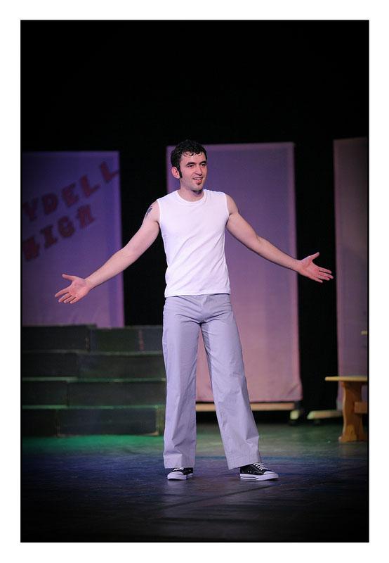 Briljantin (Grease)  foto: Tomislav Šilovinac (sikki)  Ključne riječi: Briljantin Grease Broadway