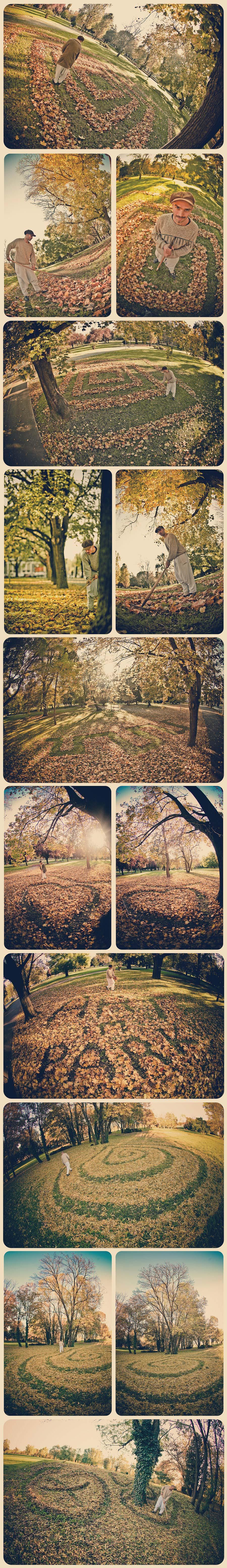 ART im PARK by Nikola Faller  Kako iskoristiti prekrasan dan?  foto: Tomislav Šilovinac Šiki    Ključne riječi: osijek park faller jesen