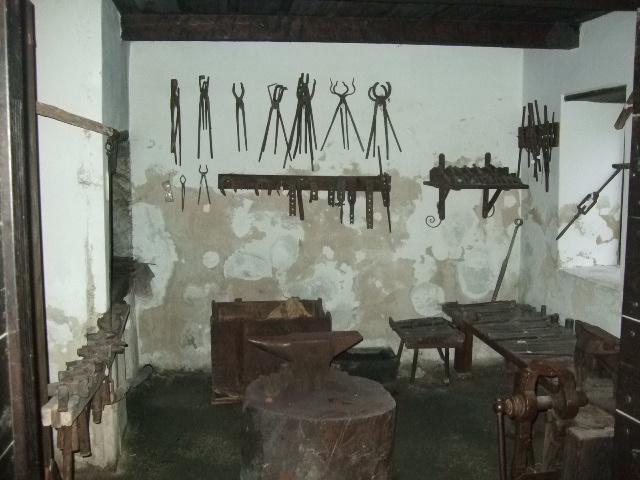 Muzej Kumrovec - kovačnica
