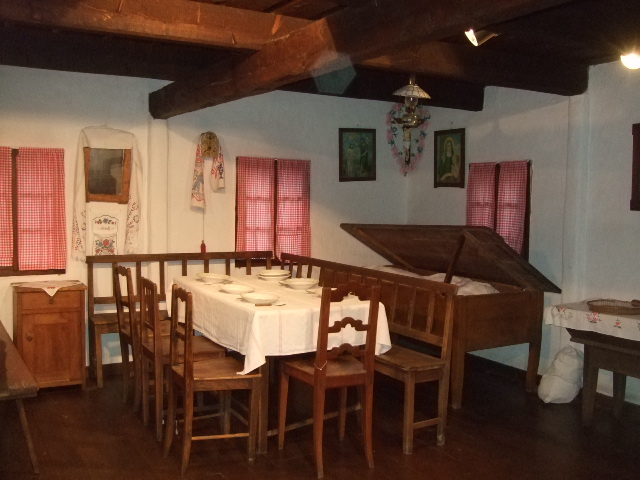 Muzej Kumrovec - unutrašnjost kuća
