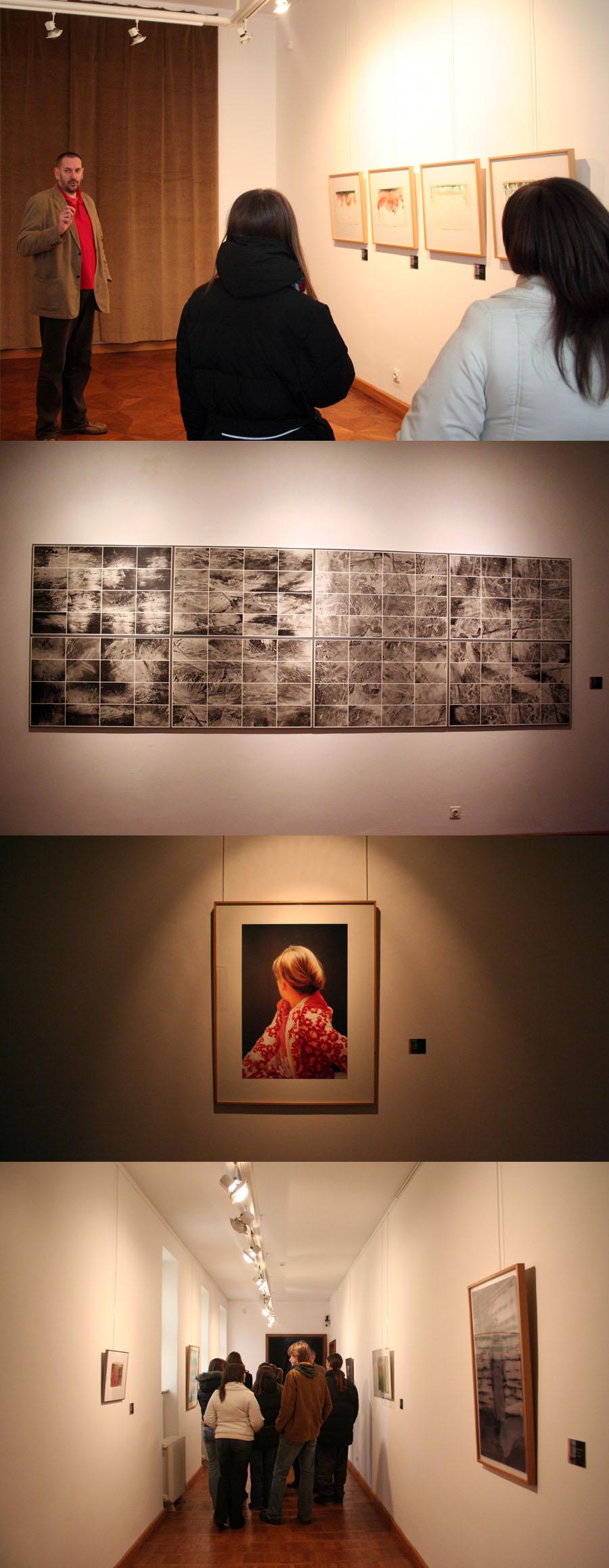 GLU: Gerhard Richter - retrospektivni pregled  U Galeriji likovnih umjetnosti (Europska avenija 9, Osijek) od petka 14. prosinca 2007. bit će postavljena izložba
