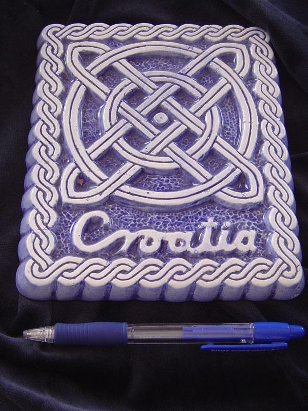 croatia  Ključne riječi: keramika pleter