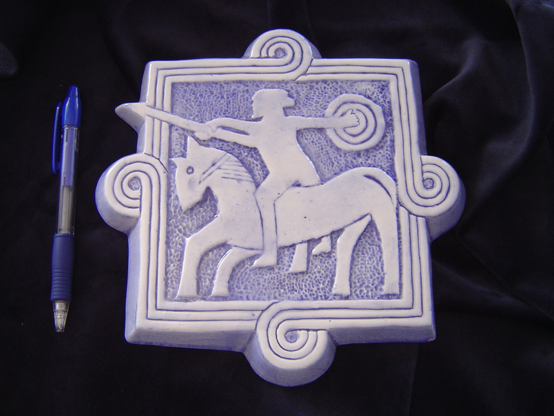konjanik  Ključne riječi: keramika
