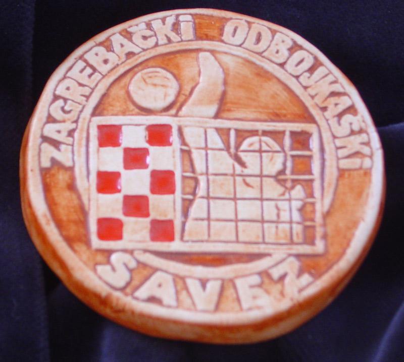 medalja odbojkaška  Ključne riječi: keramika