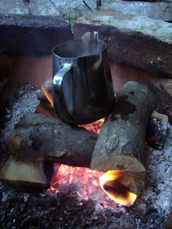 kava na kaubojski način