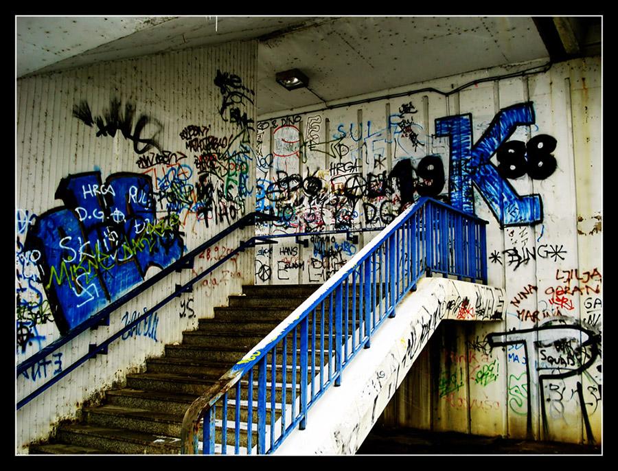 Knjiga gostiju  Foto: grrrrrrrr  Ključne riječi: osijek grafiti most stepenice