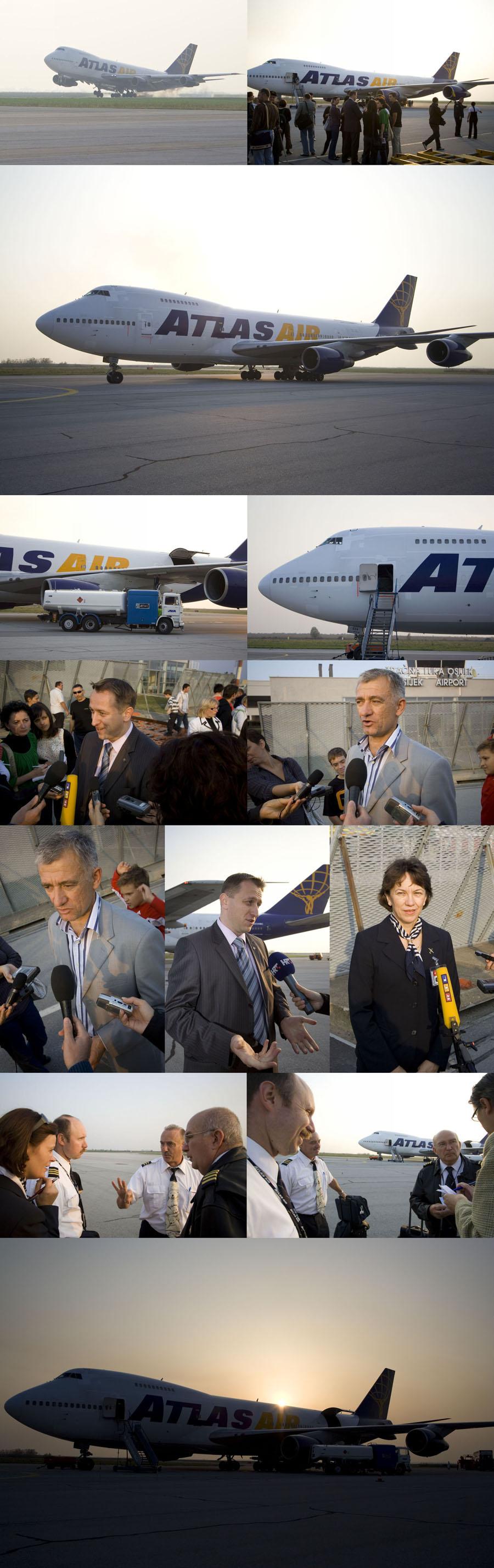 Boeing 747 u Osijeku  [url=http://www.osijek031.com/osijek.php?topic_id=15701]Boeing 747 i leteće junice[/url]  Foto: Daniel Antunovic  Ključne riječi: boeing 747 zlo zrakoplov