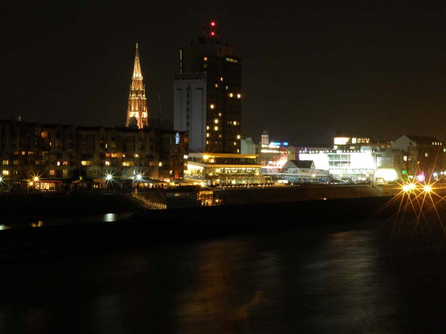 Noćni tijek  Foto: Vladimir Harhaj   Ključne riječi: nocni tijek