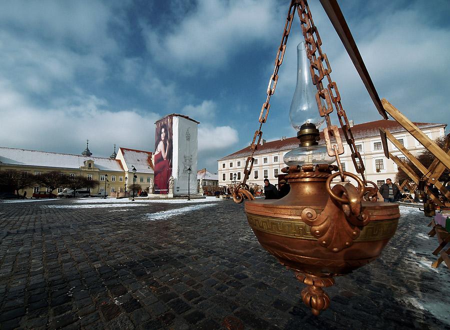 Čarobna lampa  Foto: Jasmina Gorjanski  Ključne riječi: carobna lampa zima ugodjaj snijeg