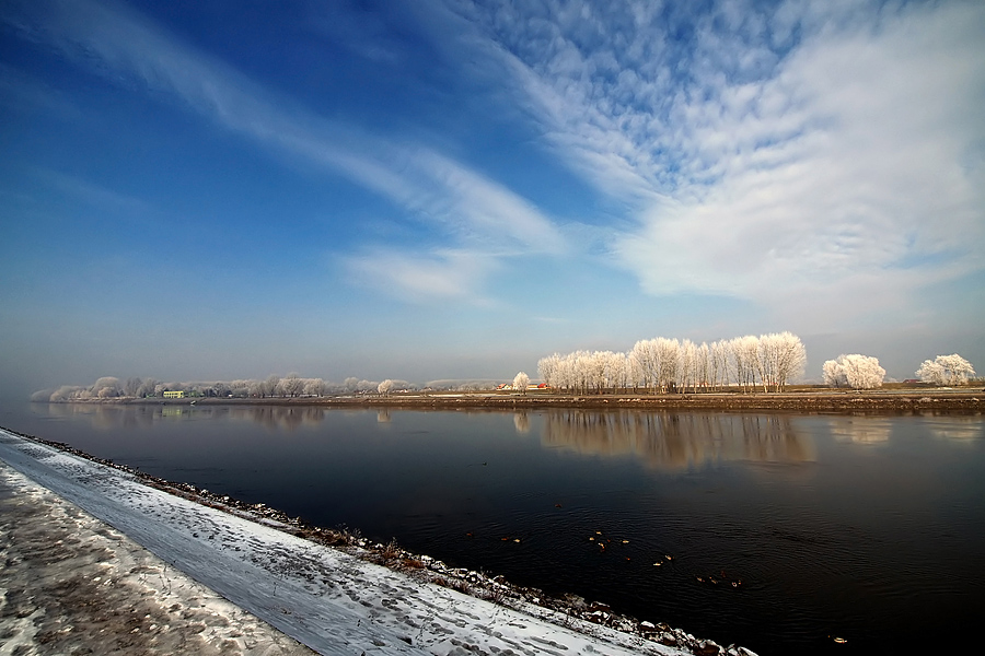 Jedan zimski dan  Foto: Jasmina Gorjanski  Ključne riječi: jedan zimski dan zima nebo snijeg