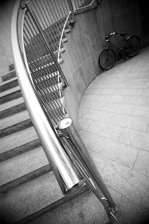You can ride it if you like  Foto: Osmanagic Senad   Ključne riječi: rukohvat pothodnik stepenice