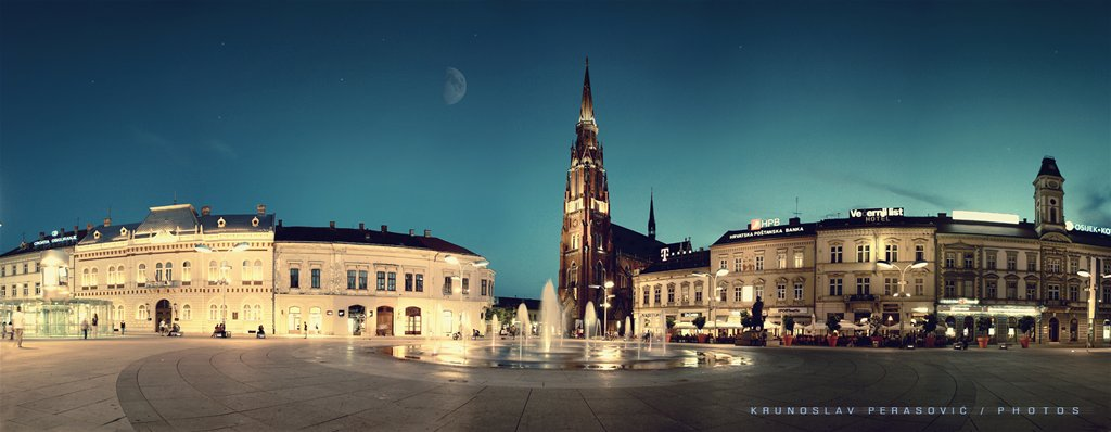 Trg moga grada  Foto: [b]Krunoslav Perasović[/b]  Ključne riječi: trg panorama
