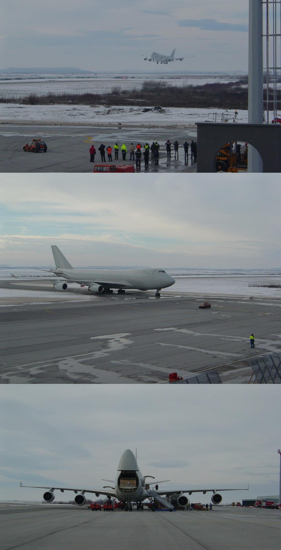Boeing747 ponovno sletio sa junicama na ZLO  22.12.2009.   Ključne riječi: boeing747 krave kanada zlo