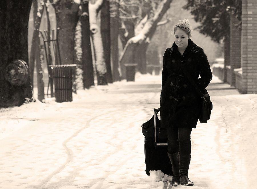Putovanja  Foto: [b]Jasmina Gorjanski[/b]  Ključne riječi: putovanja odlazak zima snijeg