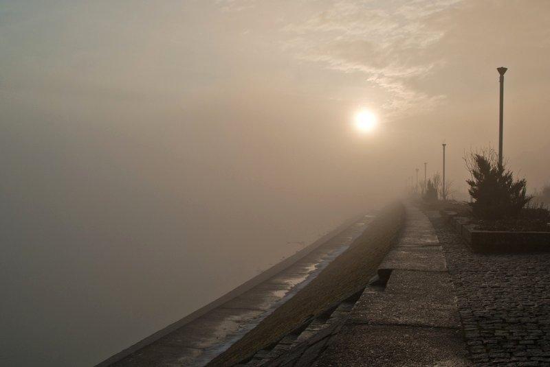 Osječko jutro  Foto: [b]Kristijan Krišto[/b]  Ključne riječi: osjecko jutro