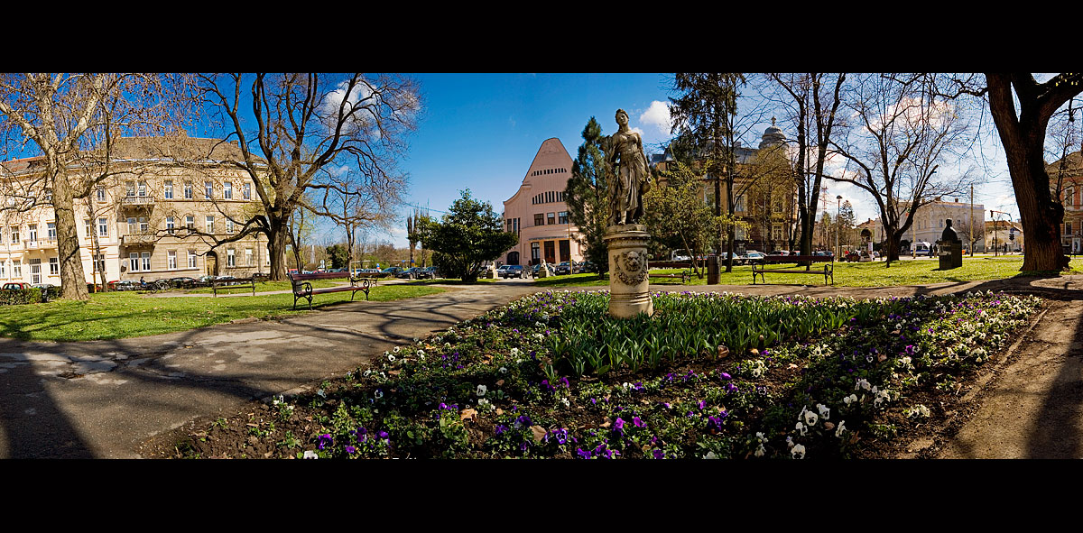 Panorama parka  foto: [b]Samir Kurtagić[/b]  Ključne riječi: park