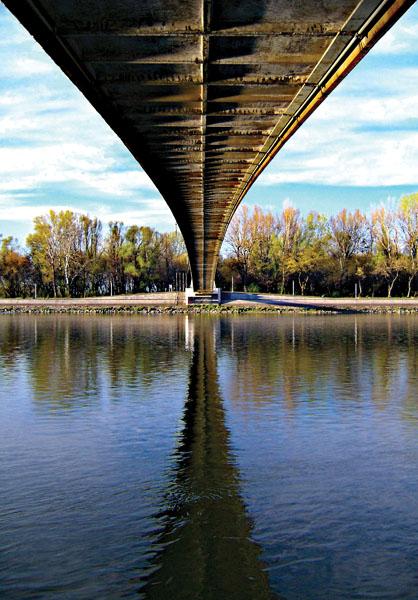 13.3.2007._perspektiva  Ključne riječi: drava most odraz refleksije
