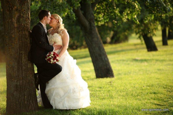 Maja i Marko 22.5.2010.  Ključne riječi: Vjenčanje mladenci mlada mladoženja svatovi