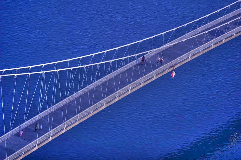 Kao more...  I.Miličić Infinity studio  Ključne riječi: most drava