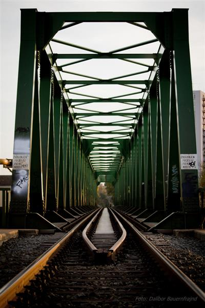 Željeznički most preko Drave  Foto: Dalibor Bauernfrajnd