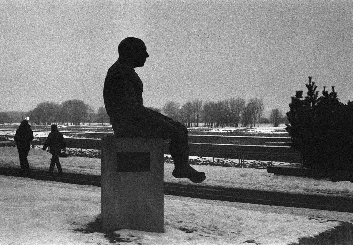 Spomenik Pablu Picassu  Foto: Ante Prskalo  Ključne riječi: Spomenik Picasso Priroda Promenada